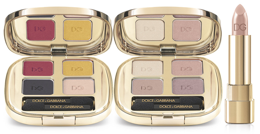 Dolce & Gabbana Makeup Collection for Spring 2015 eye shadows