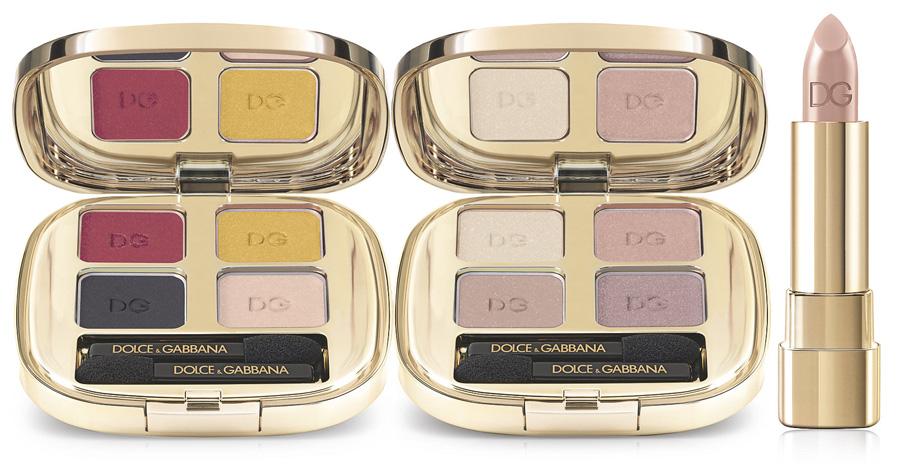 Dolce & Gabbana Makeup Collection for Spring 2015 eye shadows