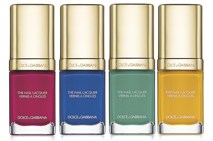 Dolce & Gabbana Makeup Collection for Spring 2015 nail polish