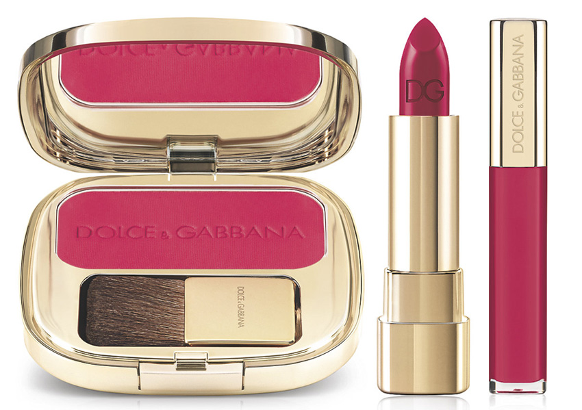 Dolce & Gabbana Makeup Collection for Spring 2015 raspberry