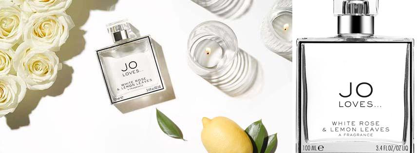 Jo Loves White Roses and Lemon Leaves cologne spring 2015