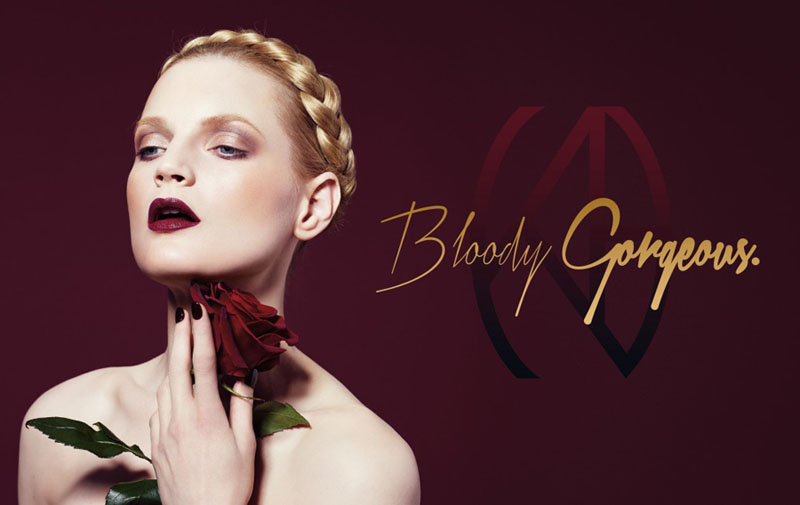 Kevyn Aucoin Beauty Bloody Gorgeous Set promo