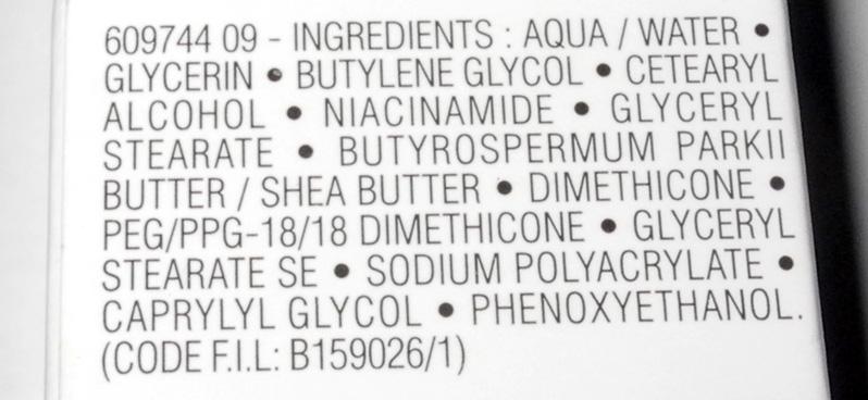 La Roche-Posay Cicaplast Baume B5 Hand Cream Review ingredients