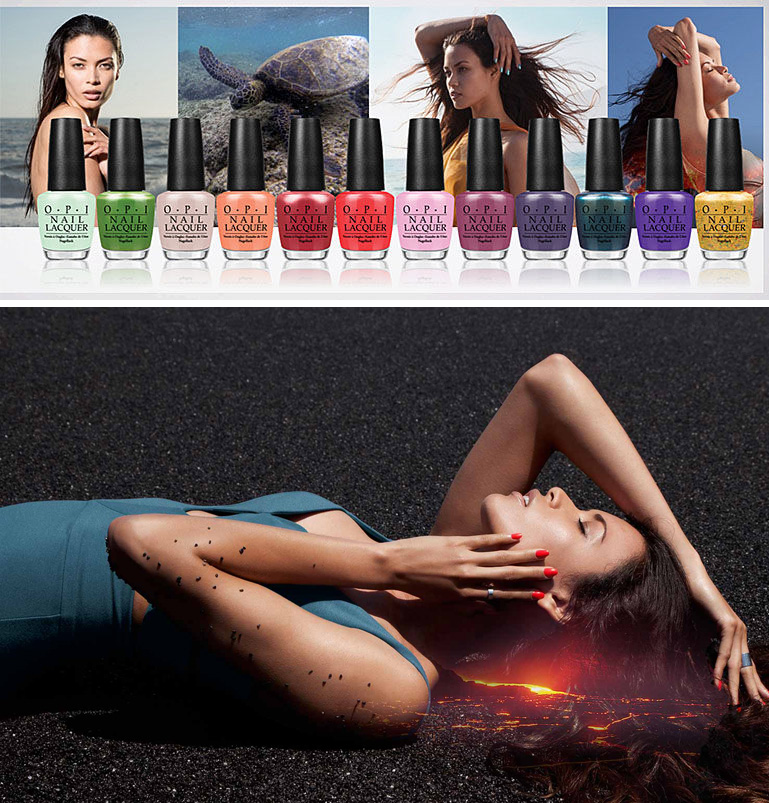 OPI Hawaii Nail Polish Collection for Spring 2015 promo and all the shades