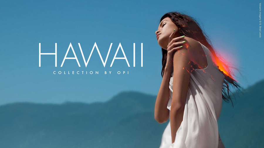 OPI Hawaii Nail Polish Collection for Spring 2015 promo