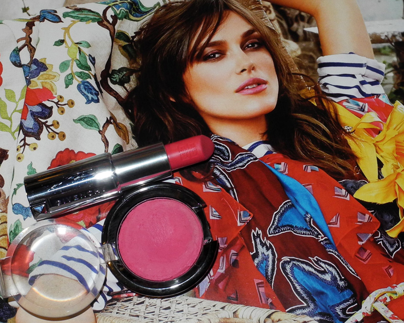 Optimistic Makeup Pink Daniel Sandler Blusher and Lipstick Givenchy