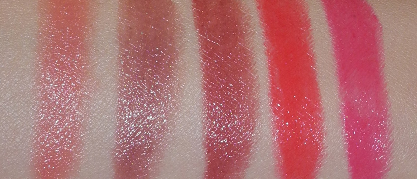 Rouge Bunny Rouge Sheer Lipsticks Succulence of Dew All Shades Review and Swatches