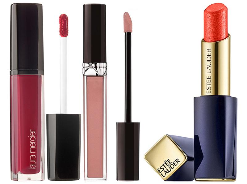 Spring 2015 Lip Products Estee Lauder, Dior and Laura Mercier