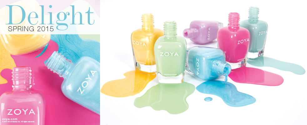 Zoya Delight Nail Polish collection for Spring 2015