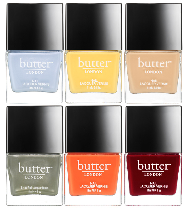 butter LONDON High Tea nail lacquer collection for Spring 20115