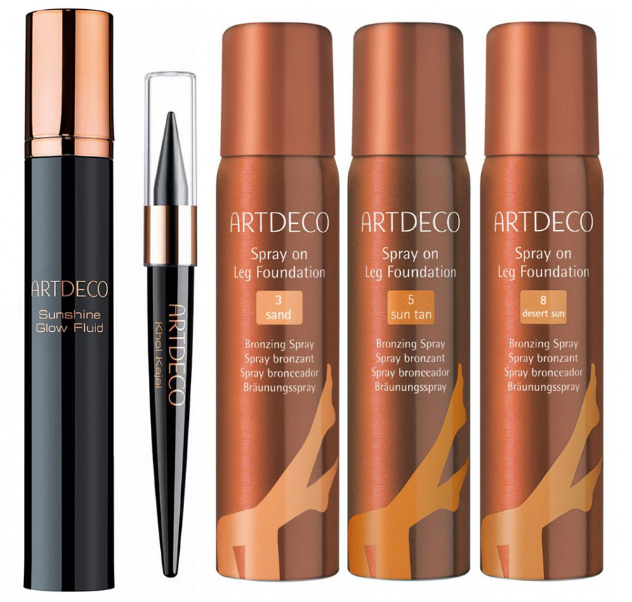 ArtDeco Here Comes The Sun Makeup Collection for Summer 2015 khol  serum legs