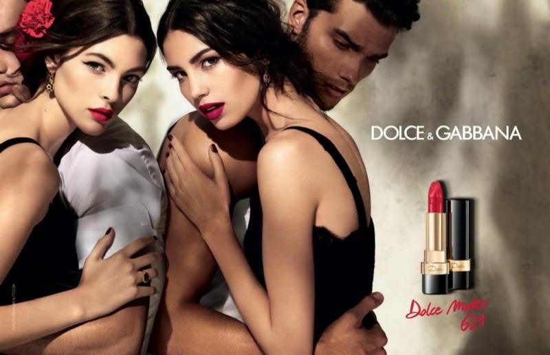 Dolce & Gabbana Dolce Matte Lipstick SS15 promo