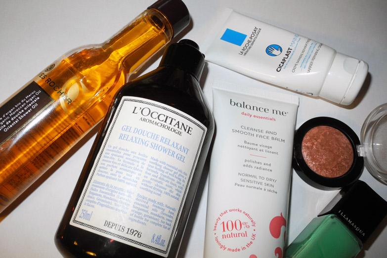February 2015 Beauty Favourites Balance me, Illamasqua, Yves Rocher, L'Occitane, Max Factor