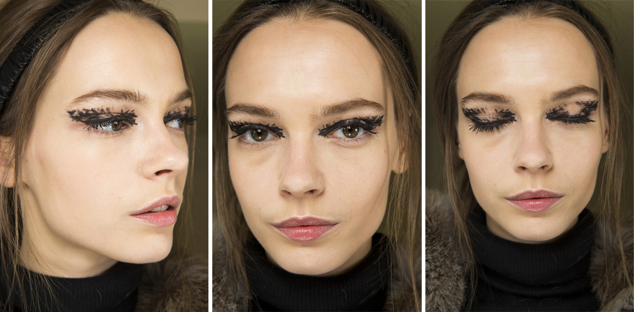 Fendi AW 2016 Makeup look Fashion Week