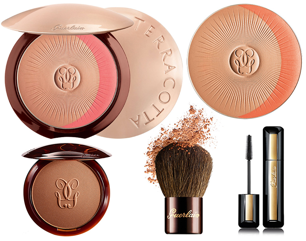 Guerlain Terracotta Natural Healthy Glow Powder Duo and Cils d'Enfer Maxi Lash So Volume SS 2015