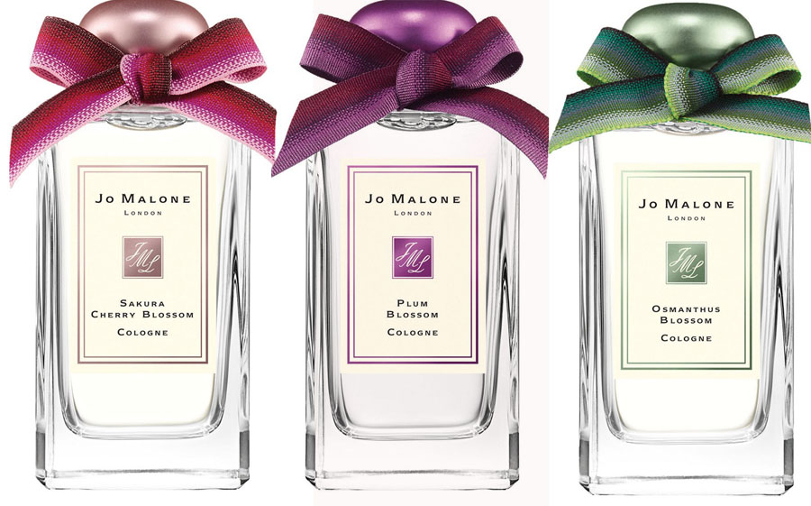 Jo Malone spring 2015 cologne collection plum, cherry ansd osmanthus