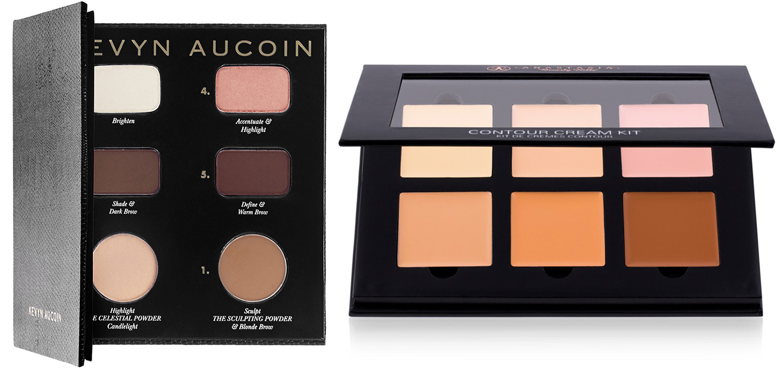 Kevin Aucoin and Anastasia Beverly Hills SS15 Contouring