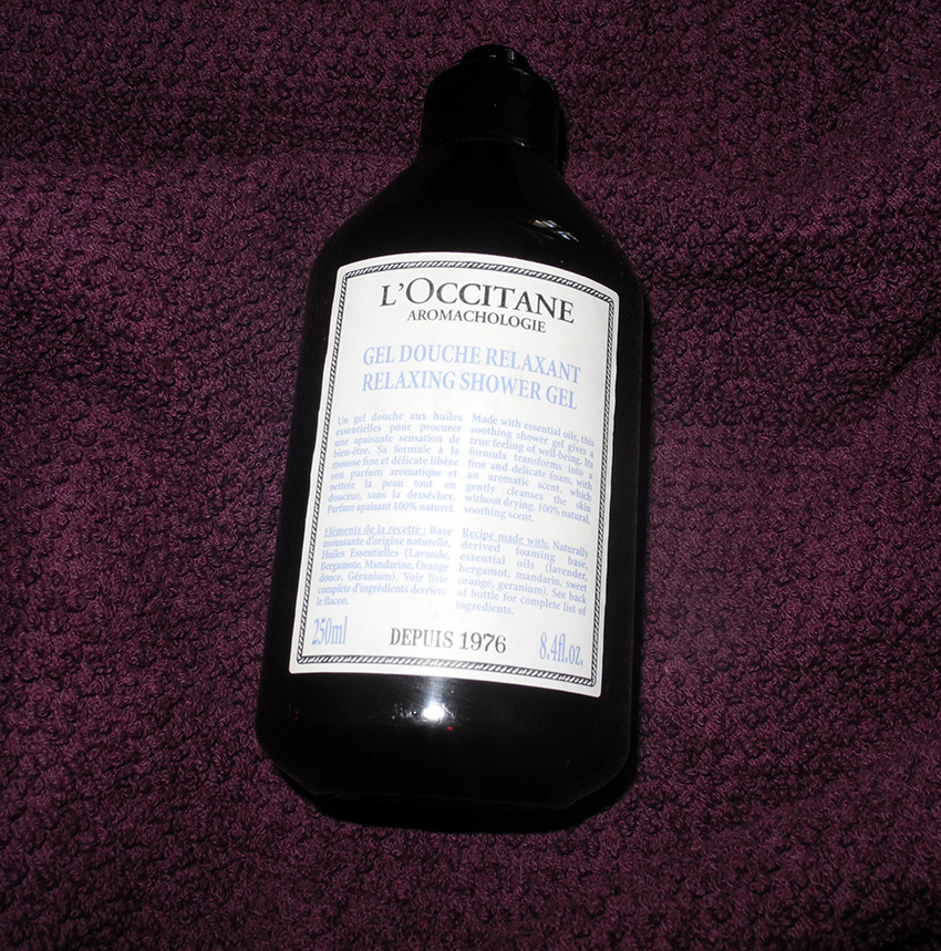 L'Occitane Aromachologie Relaxing Shower Gel Review