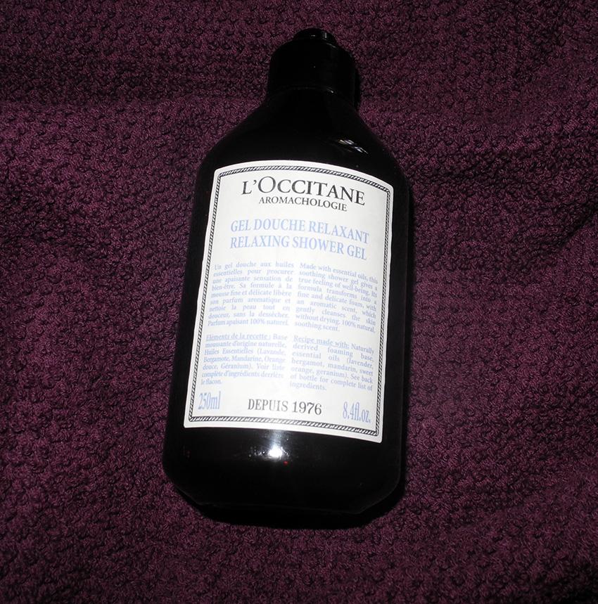 L'Occitane Aromachologie Relaxing Shower Gel Review