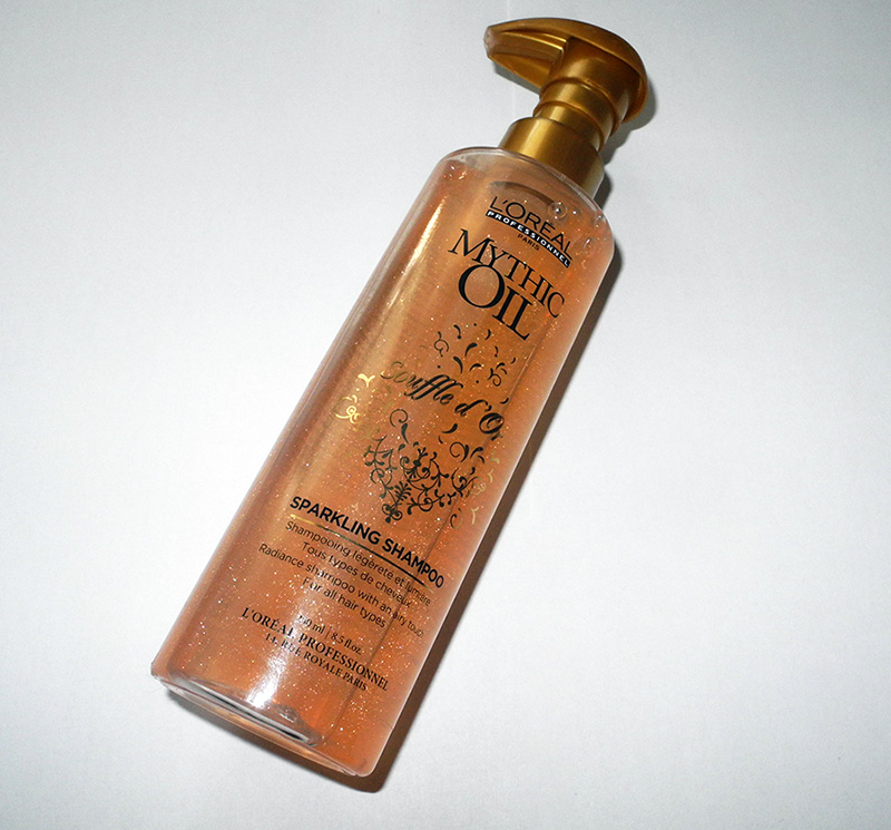 L'Oréal Professionnel Mythic Oil Souffle D'Or Shampoo Review bottle