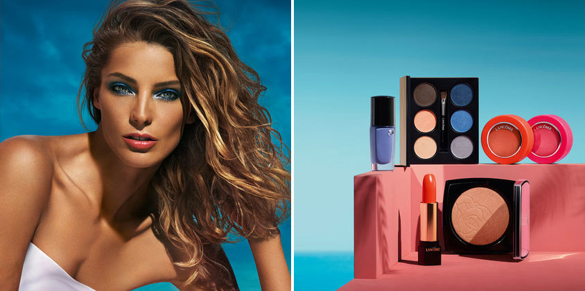 Lancome Makeup Collection for Summer 2015 promo