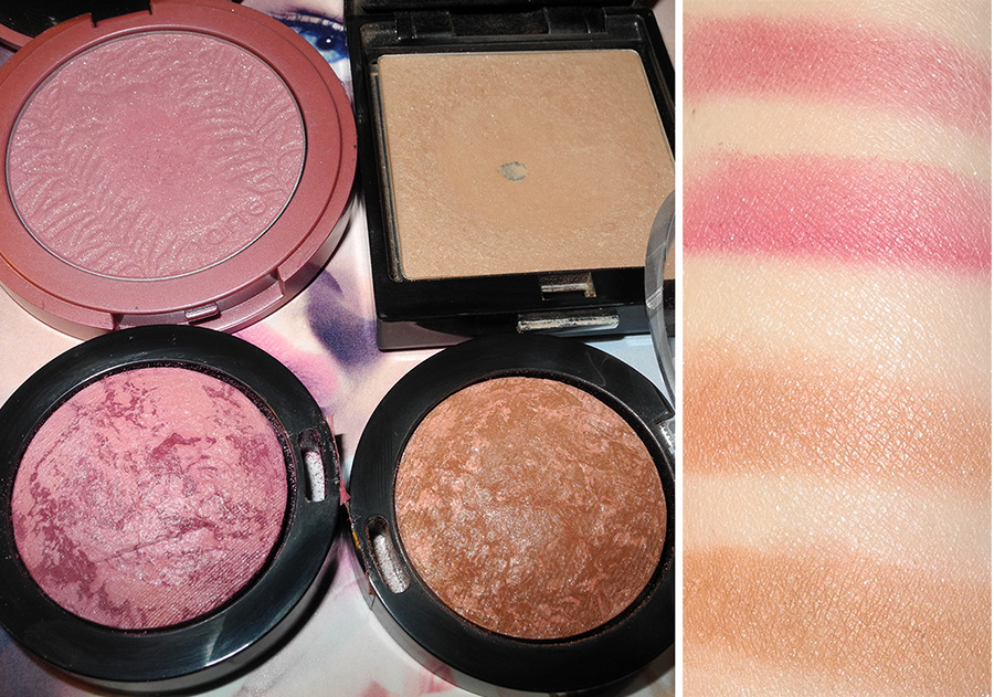Max Factor Creme Puff Blushes Review and Swatches tarte and trish mcevoy