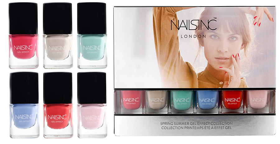 Nails Inc Spring Summer 2015 Mini Gel Effect Collection