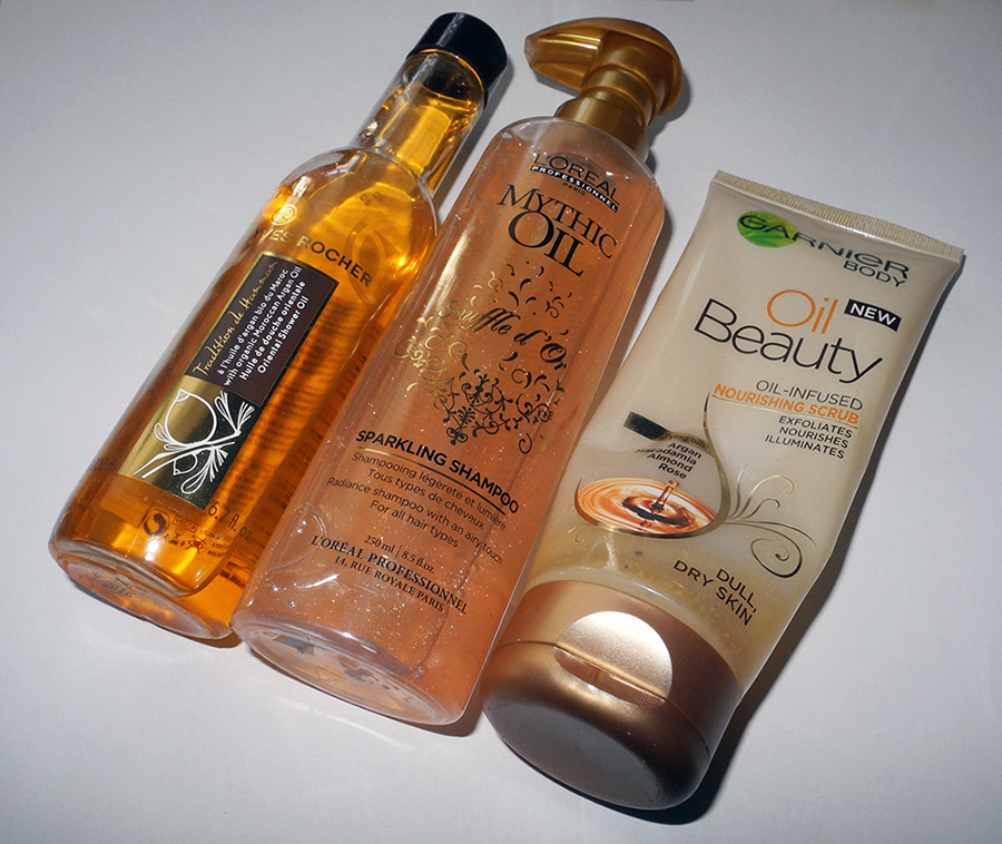 Oil Beauty Ganrienr Loreal Yves Rocher