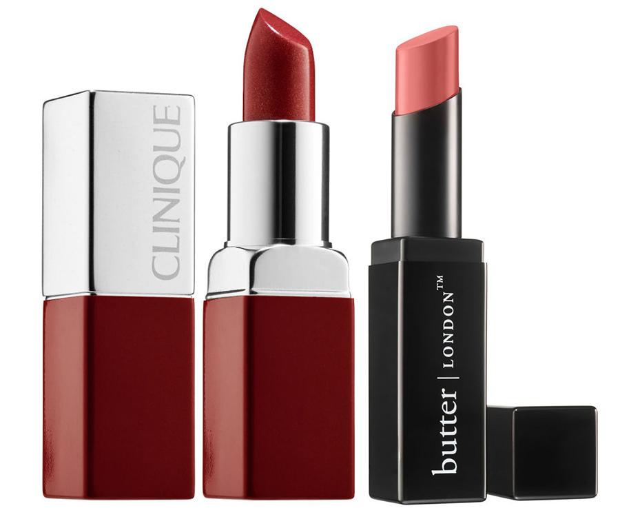 SS15 Lipsticksbutter LONDON and Clinique