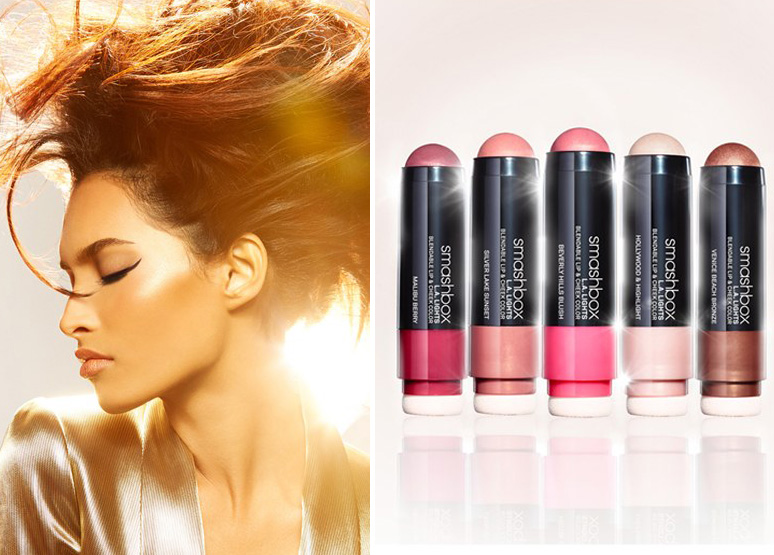 Smashbox L.A. Lights Blendable Lip & Cheek Color SS15 new beauty