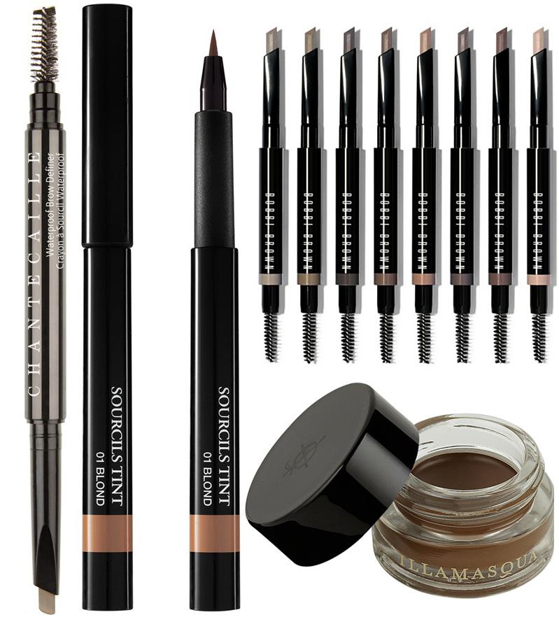 Spring 2015 Eye Brow Products Lancome, Bobbi Brown, Chantecaille and Illamasqua
