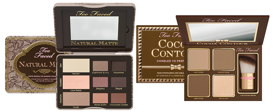 Too Faced Makeup Collection for Summer 2015 bronzers and matte eye shadows