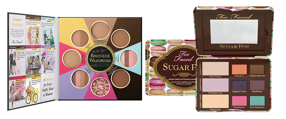 Too Faced Makeup Collection for Summer 2015 eye shadows and bronzers