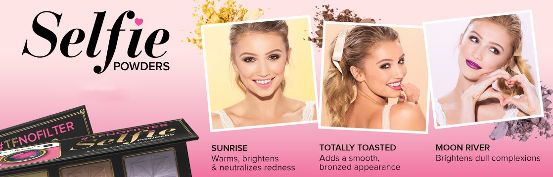 Too Faced Makeup Collection for Summer 2015 promo selfie