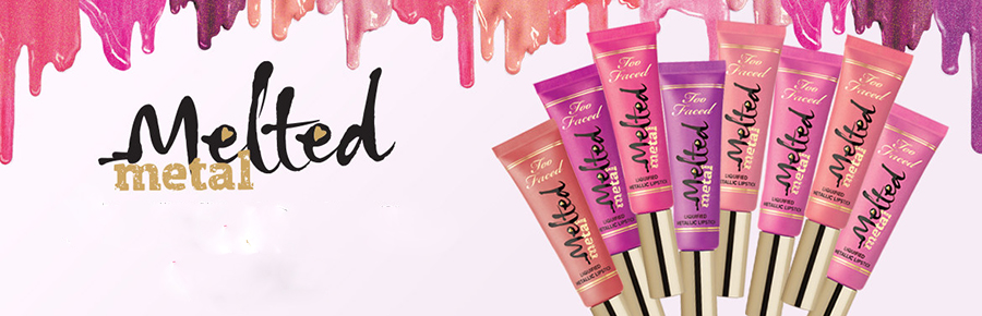 Too Faced Melted Metal Liquefied Metallic Lipstick Summer 2015