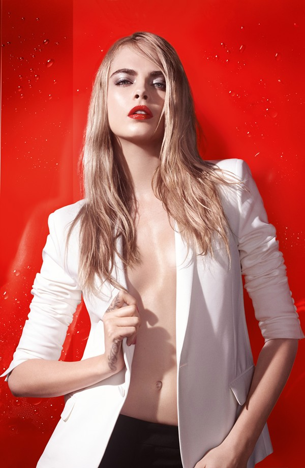 YSL Makeup Collection for Summer 2015 proo with Cara Delevigne