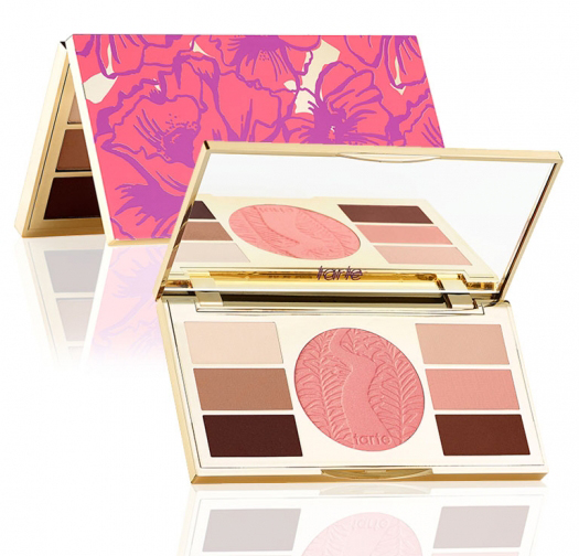 tarte poppy picnic Amazonian clay eye & cheek palette summer 2015
