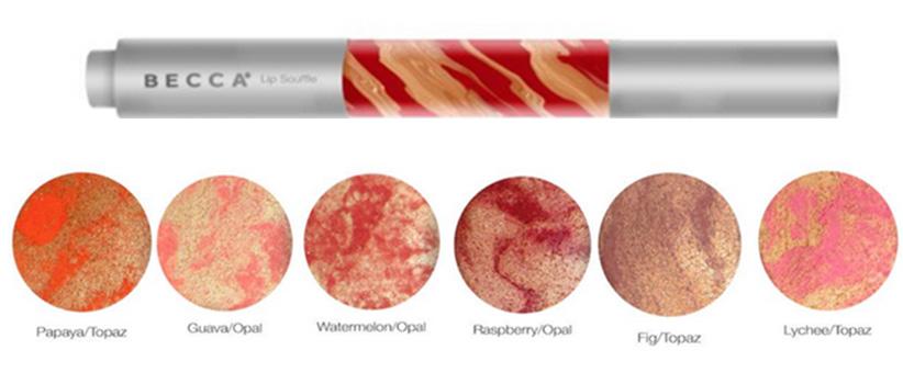 BECCA Beach Tint Lip Shimmer Souffle  for Summer 2015