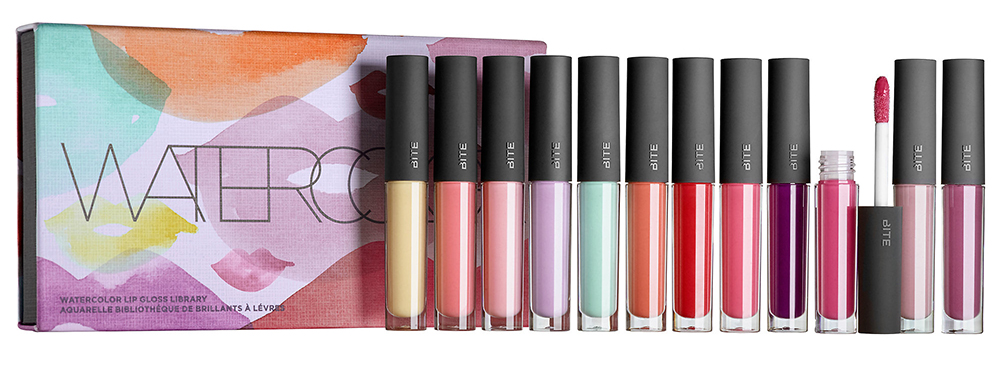 Bite Beauty Watercolor Lip Gloss Library summer 2015