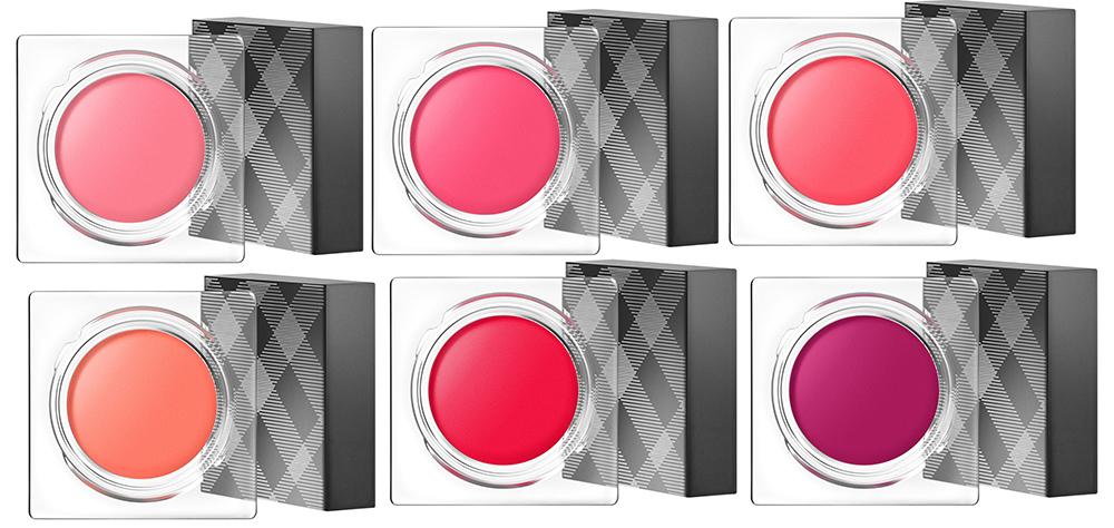 Burberry Lip & Cheek Bloom all shades for summer 2015