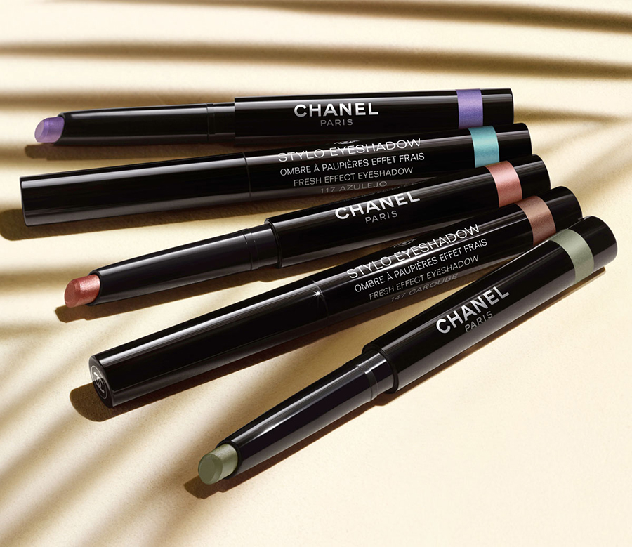 Chanel Mediterranee Makeup Collection for Summer 2015 stylo eyeshadows
