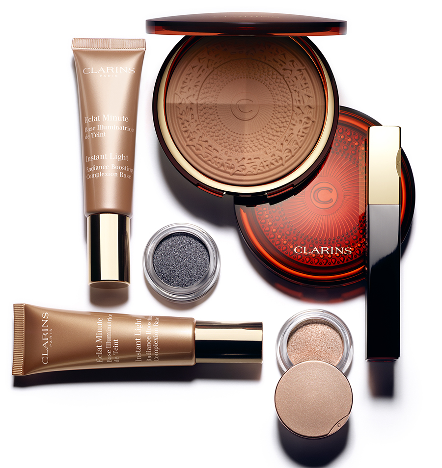 Clarins Aquatic Treasures Makeup Collection for Summer 2015 products