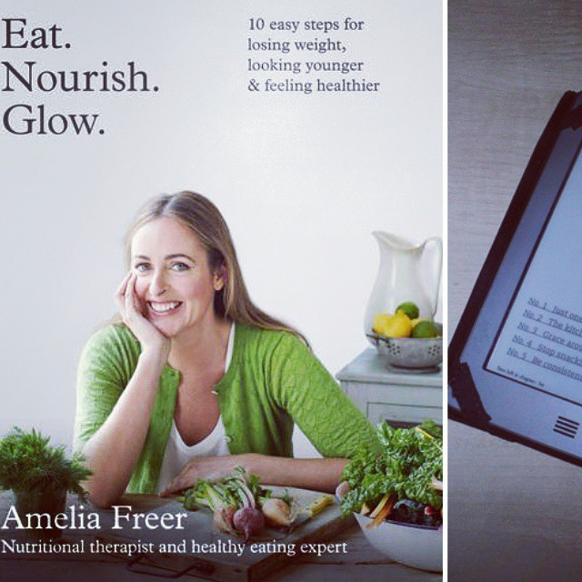 Eat Nourish Glow Amelia Freer book