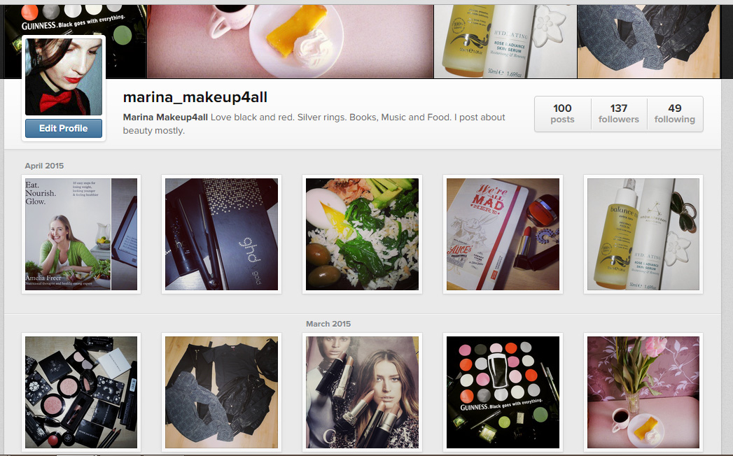 Follow Me On Instagram Marina Makeup4all