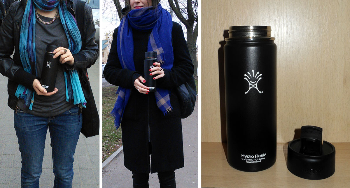 Hydro Flask Insulated Stainless Steel Water Bottle Wide Mouth with Hydro Flip Lid Review
