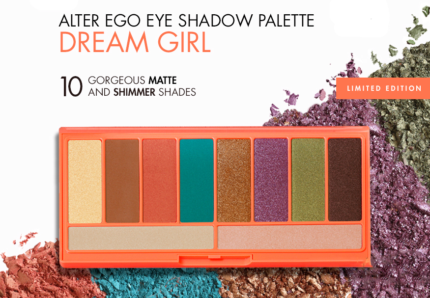 LORAC Dream Girl Alter Ego eye shadow palette summer 2015