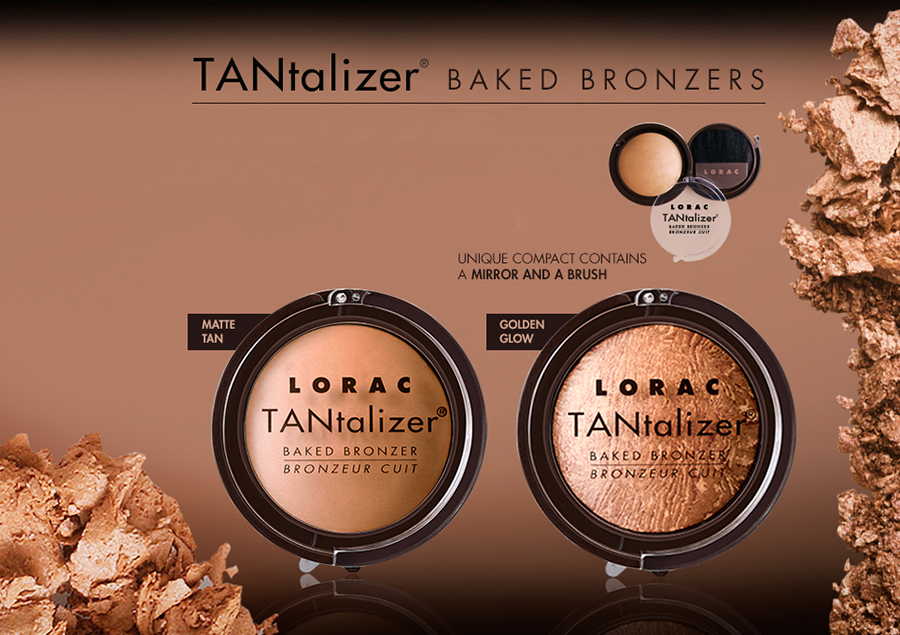 LORAC Tantalizer bronzers for summer 2015