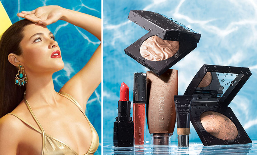 Laura Mercier  Un Ete A Ibiza Makeup Collection for Summer 2015 promo