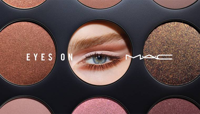MAC Eyes On MAC Eye Shadow Palettes Collection promo