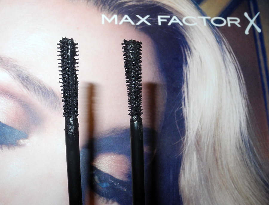 Max Factor Glamour Extensions 3-in-1 Mascara Review brushes